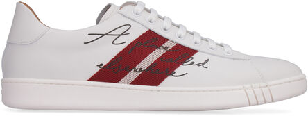 Wisker leather sneakers, Low Top Sneakers Bally man