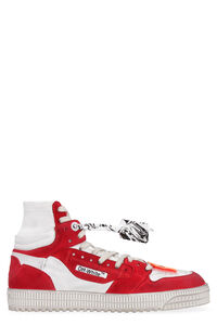 Off Court leather sneakers, High Top Sneakers Off-White man