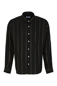 Striped viscose shirt, Striped Shirts AMI PARIS man