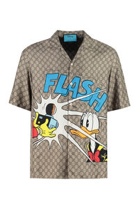 Silk shirt - Donald Duck Disney x Gucci, Short sleeve Shirts Gucci man