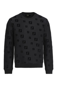 Cotton crew-neck sweatshirt, Sweatshirts Fendi man