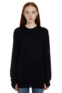 Crew-neck wool sweater, Cardigan Maison Margiela woman