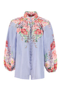 Bellitude printed ramie blouse, Blouses Zimmermann woman